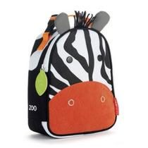Mochila Infantil Animais Zebra Termica