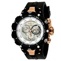 Relógio Invicta 1526 Venom 2 Reserve Ouro Rose Frete Grátis