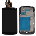 Módulo Display Lcd Touch Screen Visor Lg Nexus 4 E960 Preto