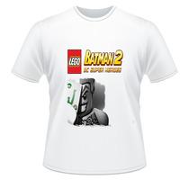 Camiseta Adulto E Infantil Lego Batman 2 Dc Super Heroes
