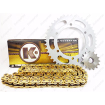 Kit Relação Transmissão Maxx Gold Com Retentor Yamaha Xt 660