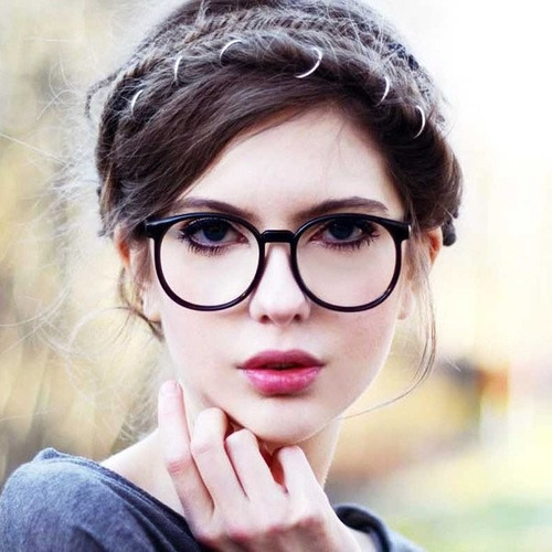 Óculos Geek - Vintage Com Lentes Sem Grau - Nerd   Mostra Fácil ae96edb757