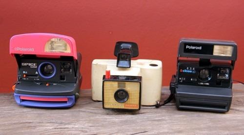 Lote Com 03 Polaroids Decoração.