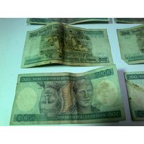 Antiga Cédula Nota - 200 Duzentos Cruzeiros Princesa Isabel