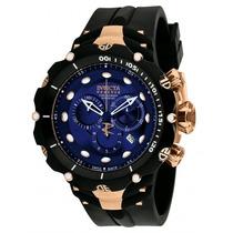 Relógio Invicta 1525 Venom 2 Subaqua Ouro Rose Com Caixa.