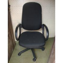 Cadeira Escritório Executiva Presidente Giratória Em Tecido