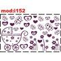 Adesivo I152 Carrinho De Bebê Borboletas Borboletinhas Flor
