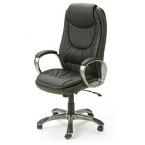 Cadeira Presidente Office Estofada Em Couro Pu Com Relax