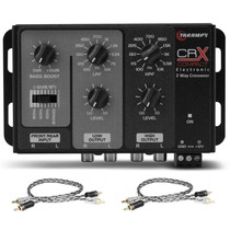 Crossover Taramps Crx Compact 2 Vias + 2 Cabos Taramps 1 Mt