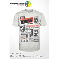 Camiseta Guns N Roses - Lies