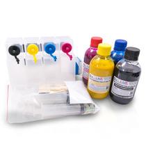 Bulk Ink Para Hp 7110 (a3) Para Instalação Tinta Pigmentada