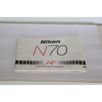 Manual De Instruções Nikon N70 / F70 - Original