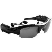 Óculos Espião C/ Mp3 - Óculos De Sol C/ Câmera Espiã E Mp3