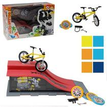 Bicicleta De Dedo C/pista E Acessórios