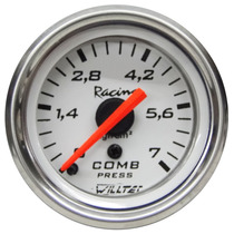 Pressão Do Combustível Willtec Top Br Manômetro 52mm 7 Kg