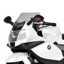 Moto Elétrica Infantil Bmw K1300 Branca Bandeirante 6v