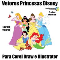 Vetores De Princesas Disney Para Corel Draw