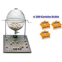 Jogo Bingo Nº3 Grande Completo Com 300 Cartelas Grátis