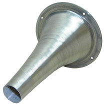Kit C/ 4 Cones Longo De Rosca Alumínio Polido Tipo Jarrão