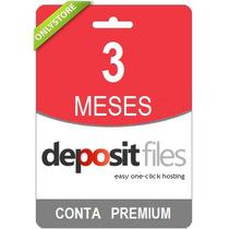 Conta Premium Depositfiles 90 Dias - Direto Do Site! Oficial