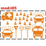 Adesivo I85 Ambulância Carro Polícia Viatura Policial Menino