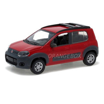 Fiat Uno Way 1:43 Norev 7729601-vermelho
