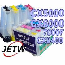 Bulk-ink Cx5000 Cx6000 7000f Cx8400 691nr T0691 T0694