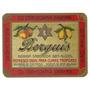 Raridade-rotulo Antigo De Refrigerante Brahma Berguis