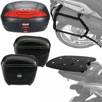 Kit Yamaha Tenere 250 Baus Givi E450n E21n + Bagageiros Scam