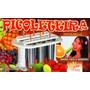 Picoleteira Formas Para 6 Sorvetes/picolés Aluminio Original