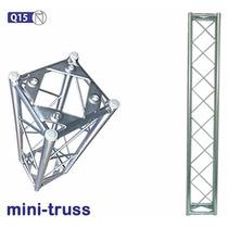 Mini Truss -q15 1m -boxtruss, Trelica Q15, Tela, Back Drop