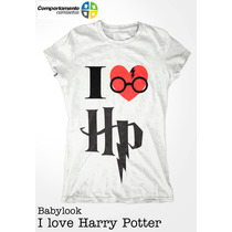 Babylook Harry Potter - Cinema - Livros