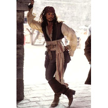 Fantasia Piratas Do Caribe (apenas As Roupas)