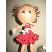 Boneca Eva 3d, Porta Recados, Porta Fotos ,