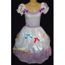 Vestido Noiva Junino Adulto Festa Junina Caipira - 36 Ao 48