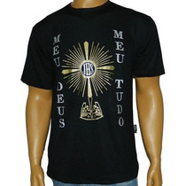 Camiseta Ostensório Religiosa Católica