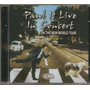 Paul Mccartney - Paul Is Live - Cd Lacrado