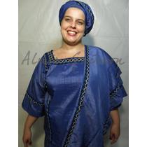 Conjunto P/ Egbomi - Pareo - Candomble-roupas De Santo/orixa