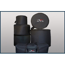 Capa Para Bateria Bumbo 20 Avs Kit 5 Pçs Bag + Ferragens