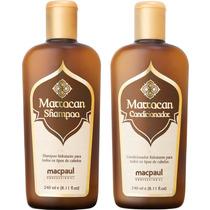 Kit Marrocan Shampoo E Condicionador -?óleo De Argan Macpaul