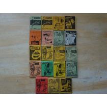Lote Com 15 Caixas De Fósforos Antigas - Anos 50 E 60