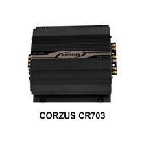 Módulo Amplificador Corzus Cr703 3canais Mono Stereo 280wrms