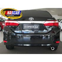 Ponteira Toyota Corolla 2015 Em Aço Inox 304 Lançamento !!!