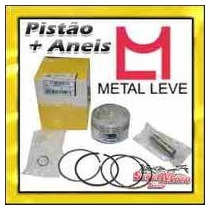 Kit Pistao E Aneis Cbx 200 Strada, Xr 200 ( Std Ha 1.00mm )
