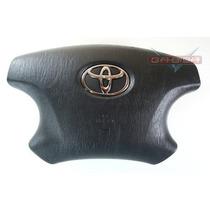 Bolsa Air Bag Do Motorista Plug Laranja Toyota Corolla 03 08