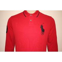 Camisa Gola Polo Manga Longa Rugby Polo Ralph Lauren