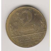 339 = 2 Cruzeiros 1945 Chapéu Anomala R$ 8,00