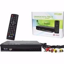 Conversor Tv Digital Função Gravador Full Hd Usb Rca Hdmi
