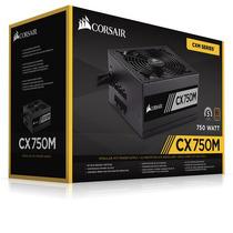 Fonte Corsair Modular Cx 750w 750 Reais 80 Plus Cx 750m