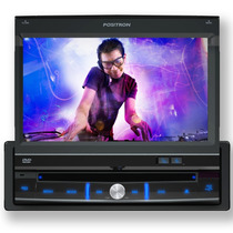 Dvd Automotivo Tela Retratil 7 Touch Screen Positron 6111 Av